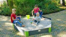 Песочница шестиугольная Exit Toys Акцент 200х170 см – фото 3