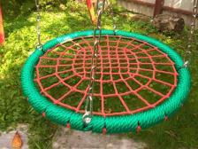 Качели гнездо ХИТ 100 см на цепях – фото 2
