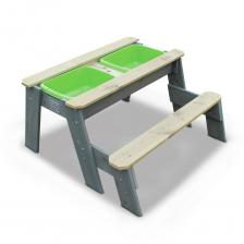 Песочница Exit Toys Акцент со скамейкой закрывающаяся – фото 3