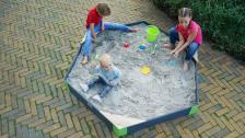 Песочница шестиугольная Exit Toys Акцент 200х170 см – фото 4