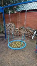 Качели гнездо ХИТ 100 см на цепях – фото 1