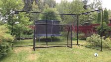 Защитный барьер для футбольных ворот Exit Toys 900 см – фото 2
