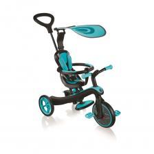 Трехколесный велосипед Globber Trike Explorer 4 в 1, голубой
