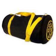Сумка Gold's Gym (черная с желтыми ремнями)