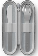 Набор столовых приборов в футляре MB Slim Nest, серый, 3 шт. Monbento