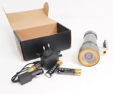Светодиодный ручной фонарь NK 688 Т6 (8000 лм) – фото 2