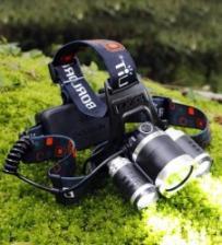 Светодиодный налобный LED фонарик HT-367