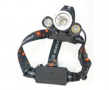 Аккумуляторный налобный фонарь FL2303, 1000 люмен, 3 режима