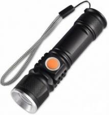 Светодиодный LED фонарик с USB зарядкой от сети