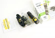 Фонарь налобный Armytek Elf C2 Micro-USB, 980 люмен XP-L (теплый свет) + 18650 Li-Ion – фото 2