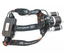 Аккумуляторный налобный фонарь FL2303, 1000 люмен, 3 режима – фото 1