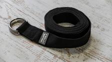 Ремешок для йоги 304 см, черный – фото 2