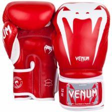 Перчатки боксерские Venum Giant 3.0 Red Nappa Leather – фото 1