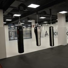 Боксерский мешок FightTech ПВХ 180Х40 HBP5 – фото 3