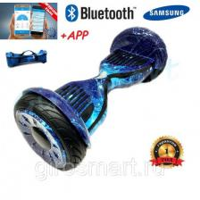 "Гироскутер Smart balance Premium 10.5"" Космос Синий Tao-Tao"