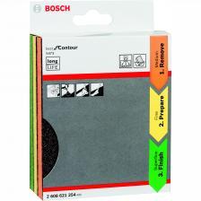 Набор губок шлифовальных Bosch Best for Contour 2608621254 98x120x13 мм, 3 шт. – фото 1