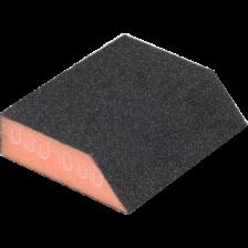 Губка абразивная 58/83х100х25мм, зерно 80