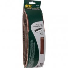 Набор Fit лента шлифовальная бесконечная Р 100 75х533 мм, 5 шт. – фото 1
