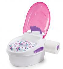 Горшок Summer Infant Горшок-подножка (3 в 1) Step-By-Step, розовый