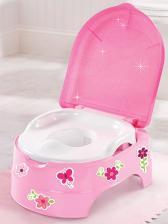 Горшок Summer Infant Горшок-подножка (2 в 1) My Fun Potty, розовый – фото 1