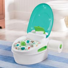Горшок Summer Infant Горшок-подножка (3 в 1) Step-By-Step, бирюзовый – фото 1