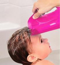 Munchkin мягкий кувшин розовый для мытья волос от 6 мес – фото 2