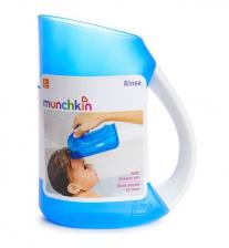 Munchkin мягкий кувшин голубой для мытья волос от 6 мес – фото 1