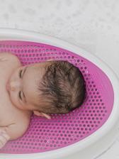 Лежак Angelcare Горка для купания детская, розовая – фото 3