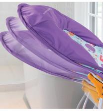 Summer Infant Лежак с подголовником для купания Deluxe Baby Bather, киты/розовый – фото 1