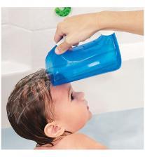 Munchkin мягкий кувшин голубой для мытья волос от 6 мес – фото 2