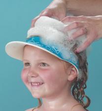 Clippasafe Защитный козырек для купания ребенка, голубой_
