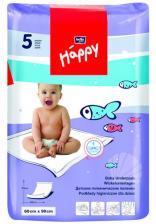 Пеленки одноразовые Bella Baby Happy 60х90 см, 5 шт.