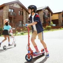 Детский электросамокат Ninebot Electric Scooter E8 Blue – фото 3