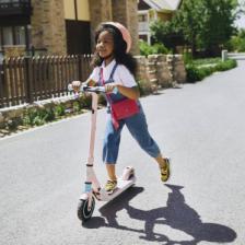 Детский электросамокат Ninebot Electric Scooter E8 Pink – фото 1