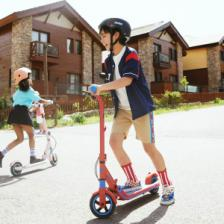 Детский электросамокат Ninebot Electric Scooter E8 Pink – фото 3
