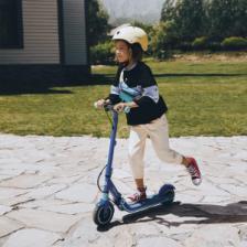 Детский электросамокат Ninebot Electric Scooter E8 Blue – фото 1