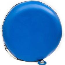 Тюбинг с пластиковым дном Профи синий – фото 1