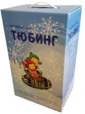 """Санки надувные """"Ватрушка"""" Космос – фото 1"""