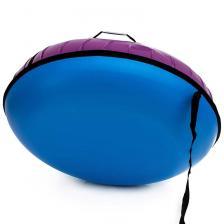 Тюбинг с пластиковым дном Профи фиолетовый – фото 1