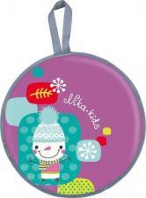 Тюбинг Ледянка НИКА мягкая диаметр 450 мм с рисунком (ТЕНТ+ТКАНЬ ОКСФОРД) 1/10 (снеговик, ЛР45) ЛР45СНЕГ