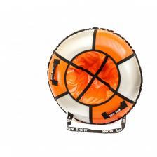 Тюбинг Практик оранжевый/серебро – фото 1