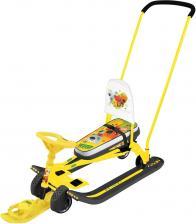 Снегокат Nika Тимка Спорт 6 Ми-ми-мишки на желтом