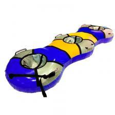 Тюбинг Трио банан синий