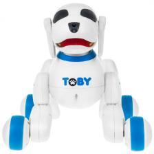 Интерактивная собака-робот Shantou Chenghai Defa Plastic Toys Industrial Toby синяя 8205-blue DEFA