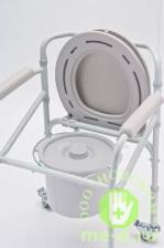 """Кресло-каталка с санитарным оснащением для инвалидов """"Armed"""" H021B – фото 2"""