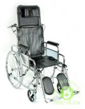 Кресло-коляска механическая стальная FS954GC