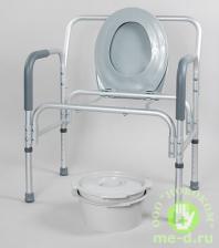 Кресло-туалет для полных людей 10589 – фото 3