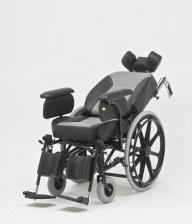 Кресло-коляска механическая стальная FS204BJQ – фото 3