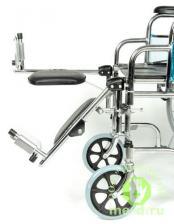 Кресло-коляска механическая стальная FS954GC – фото 2