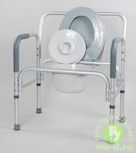 Кресло-туалет для полных людей 10589 – фото 2
